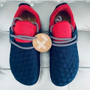 Unisex OTZ OG AVY Textile Lace Up Shoes 74249
